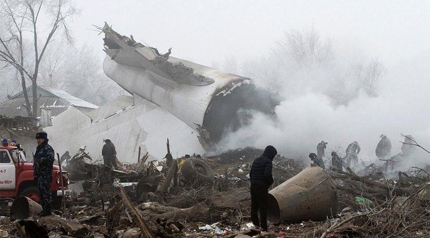 Flugzeugabsturz nahe der kirgisischen Hauptstadt Bischkek