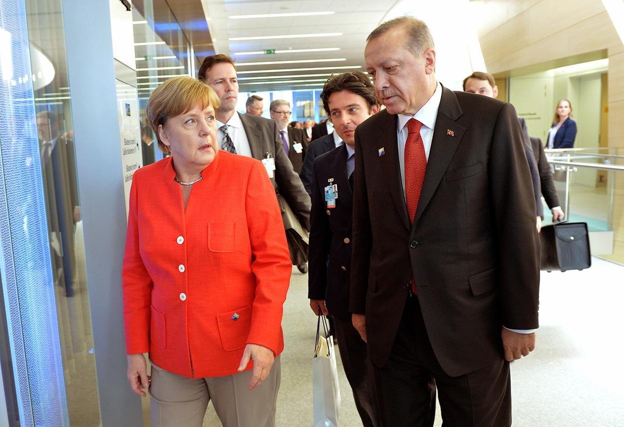 Anadolu: Merkel sprach mit Erdogan