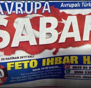 """Sabah Denunziations-Hotline wieder da – """"Wir haben euch nicht vergessen!"""""""