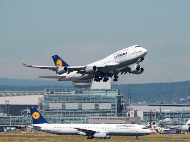 Frankfurter Flughafen wächst mit Lufthansa und Billigfliegern