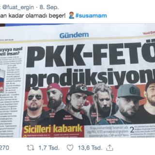 Susamam, Rapper Fuat Kritik