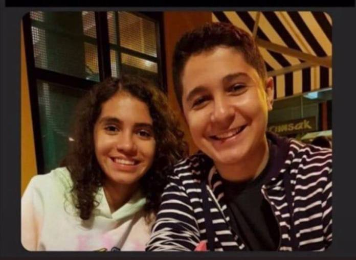 Die Zwillingsgeschwister Sayra und Cagri kamen beim Erdbeben in Izmir ums Leben.