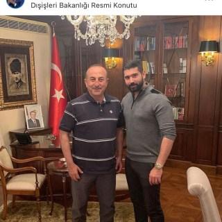 Solinger Taner Ay und Mevlüt Çavuşoğlu privat