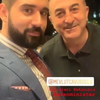 Solinger Taner Ay und Mevlüt Çavuşoğlu