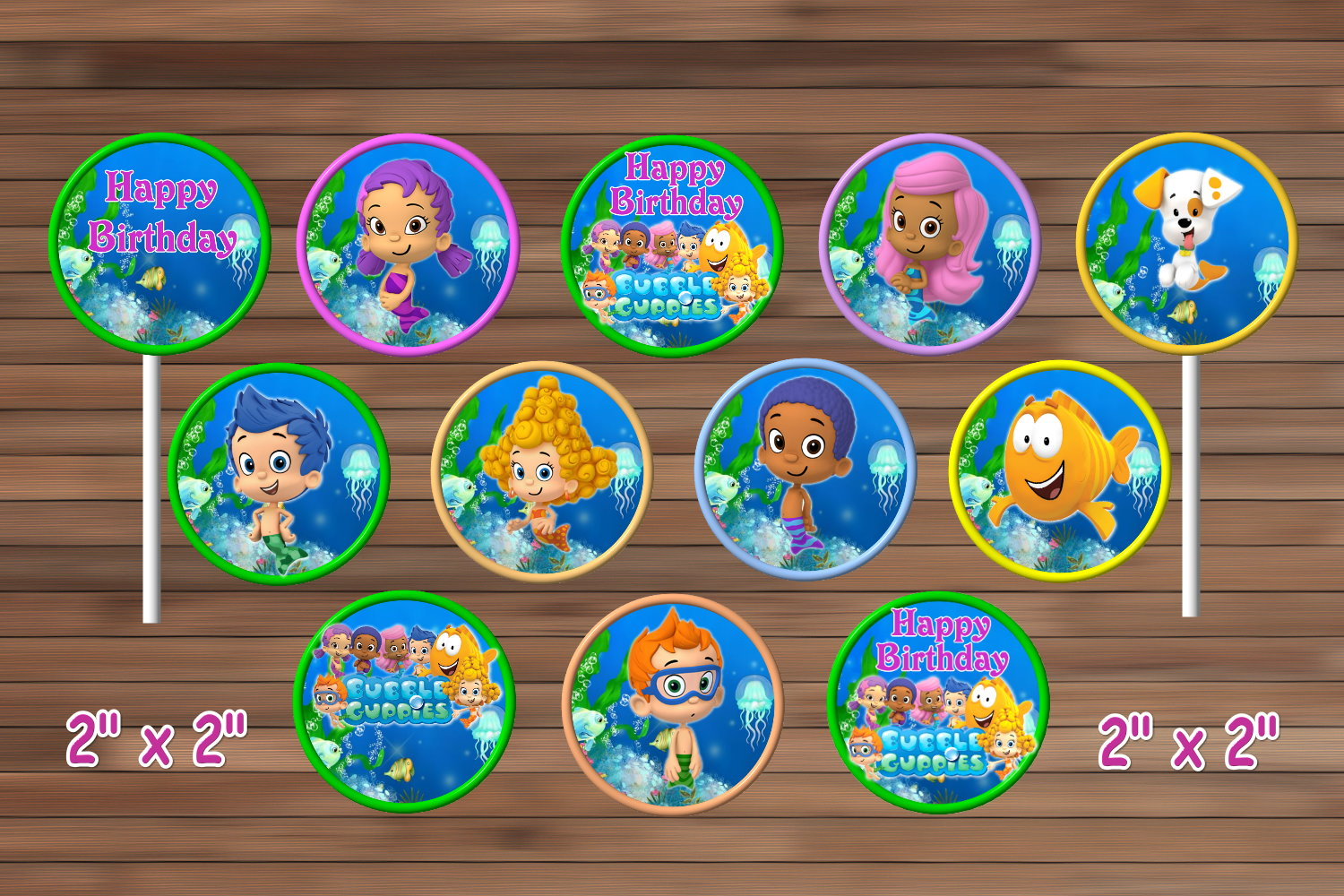 Bubble Guppies Birthday Party Decoration By Magianrainbow