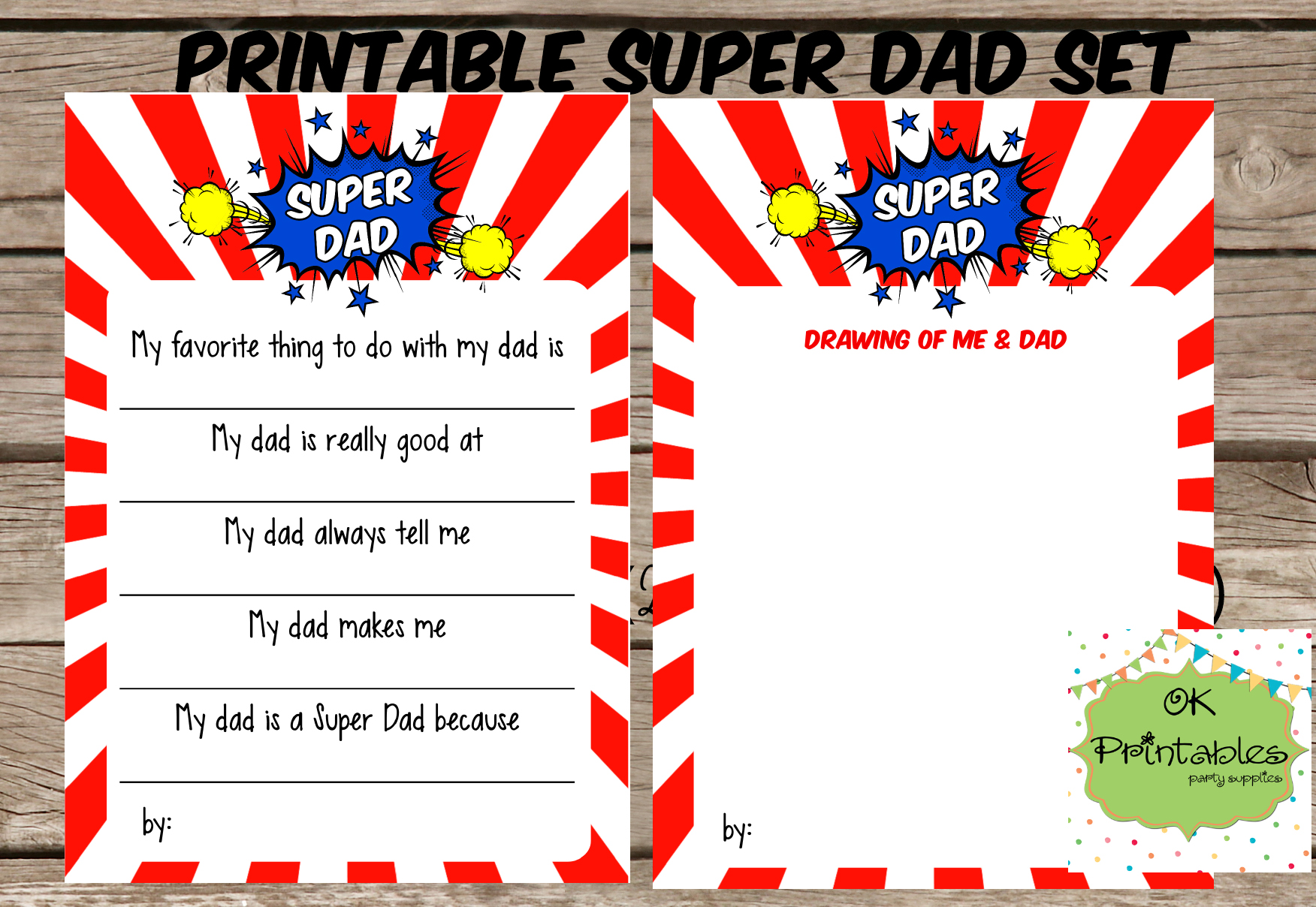 All About My Super Dad Happy Father S Day
