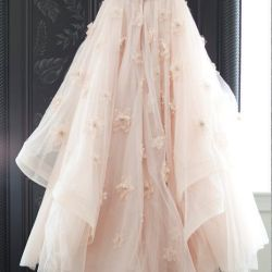 2020c3693f Long Gown With Flowers
