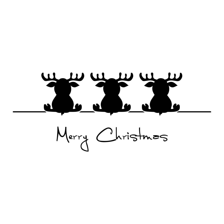 Merry Christmas Deere Graphics Design Svg By Vectordesign