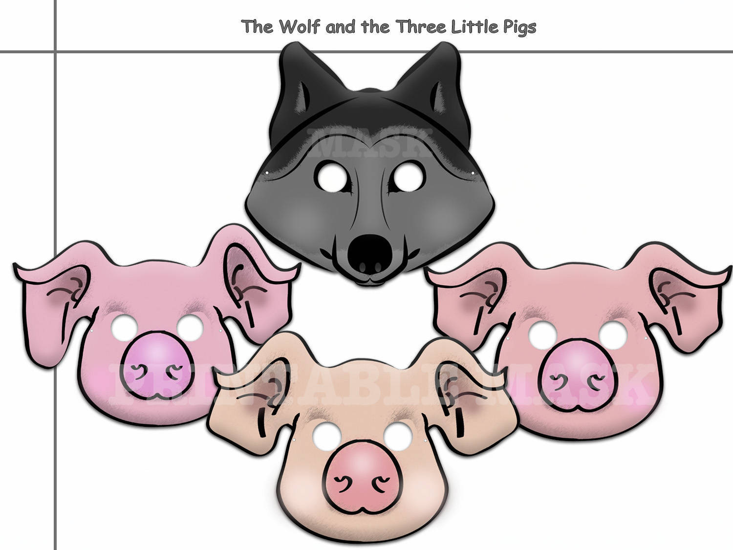 Unique Wolf And The Three Little Pigs By Holidaypartystar