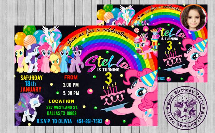 liittle pony invitation cards invitation my little pony my little pony my little pony birthday party invitations little pony birthday