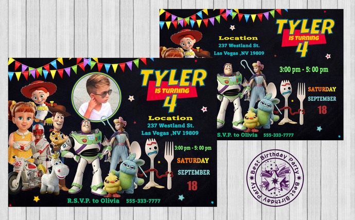 toy story 4 birthday invitations toy story invitations toy story invitation toy story printable invitations personalized toy story