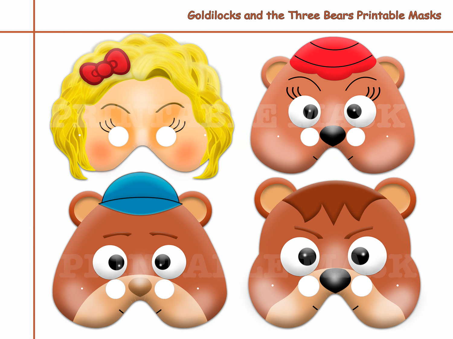 Unique Goldilocks And The Three Bears By Holidaypartystar