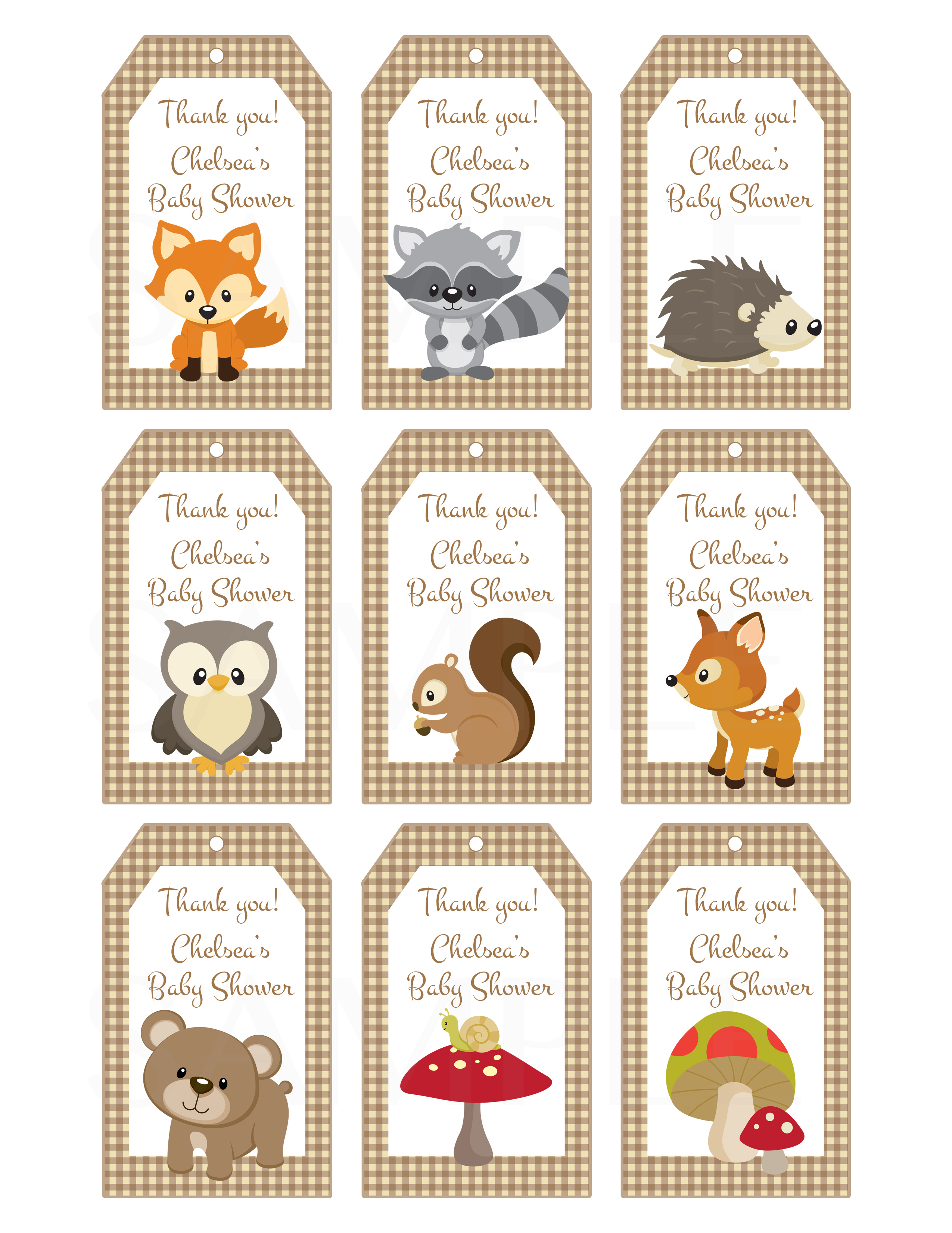 Woodland Friends Forest Animals Theme By Thelovelymemories On Zibbet