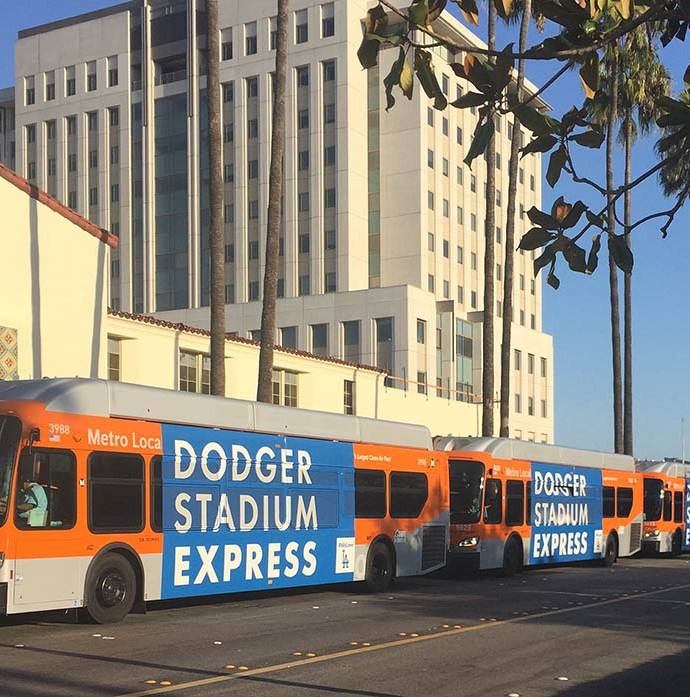 Metro Express Hits Home Run for Dodger Fans