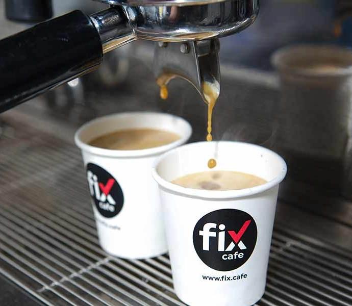 DTLA Come Get Your Fix: Fix Cafe DTLA