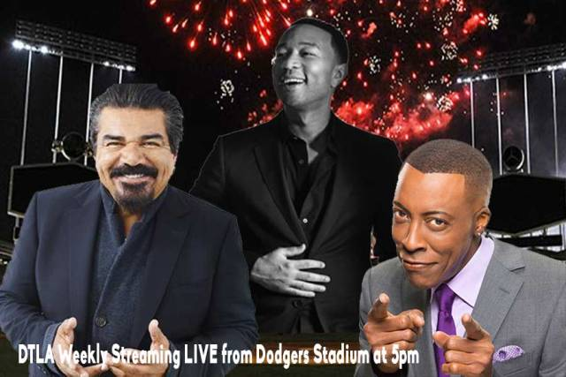 Legends and Diamonds at Dodgers Stadium