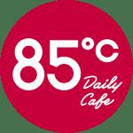 85 Degrees logo
