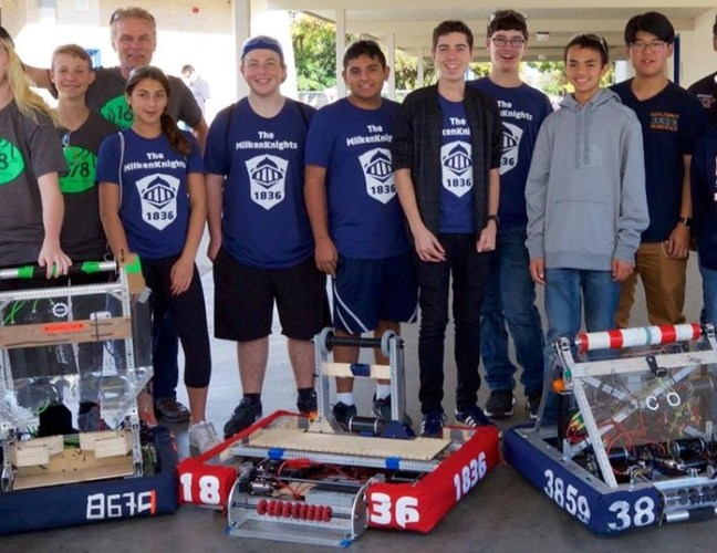 FIRST Robotics Competition Team 1836: The MilkenKnights