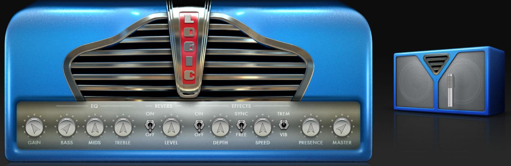 Logic Pro X:Amp Designer