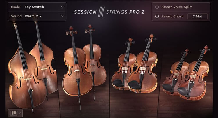 SESSION STRINGS PRO 2