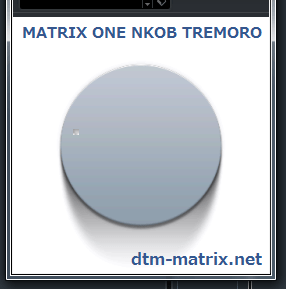 MATRIX ONE KNOB TREMOLO