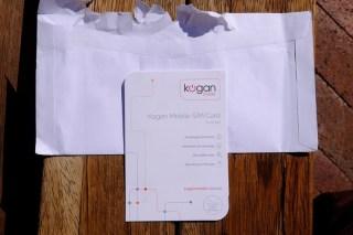 【オーストラリア】Kogan Mobile Sim Card感想・評価・レビュー