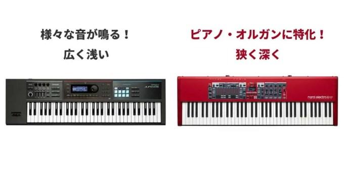 キーボード 音色数 ピアノ オルガン