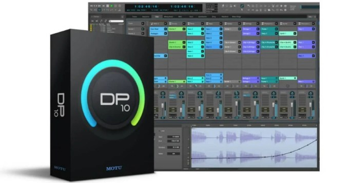 DAW DTM 初心者 MOTU Digital performer