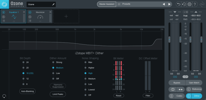 izotope ozone 9 dither