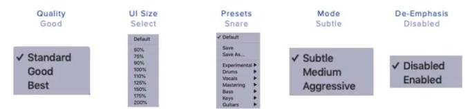 spectre-wavesfactory-quality-ui-size-presets-mode-de-emphasis