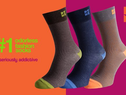 FUNKY RIBBED SOCKS PATTERN