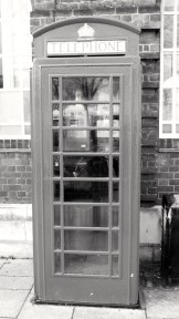 K6 Phone Box The Square Petersfield 1935