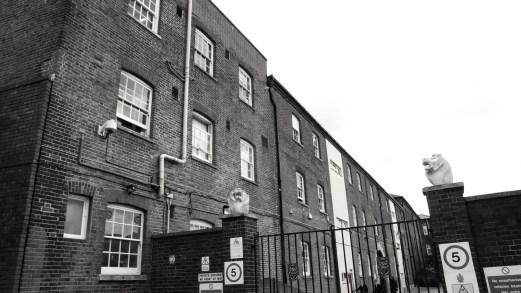 Portsmouth Grammar School (Cambridge Barracks) (Rear) C19