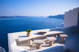 View from Greek Home Balcony