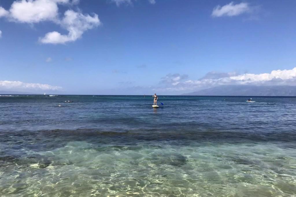 Maui Danielle SUP Boarding