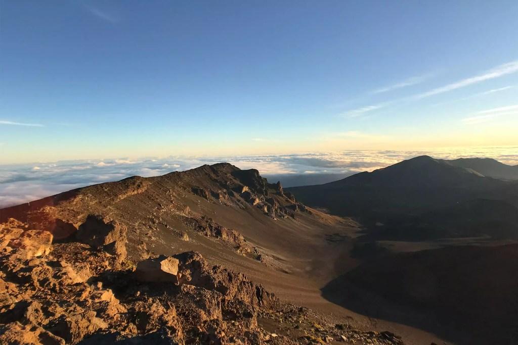 Maui Haleakala Hike Terrain