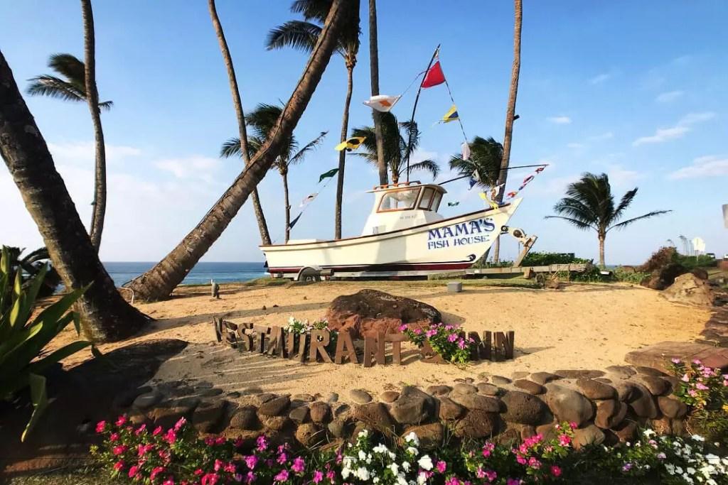 Maui Mamas Fish House Boat