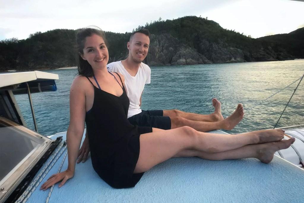 Danielle and Dom on the Kiana