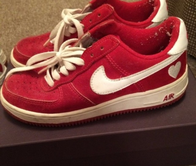 Limited Edition Valentines Day Nike Air Force I
