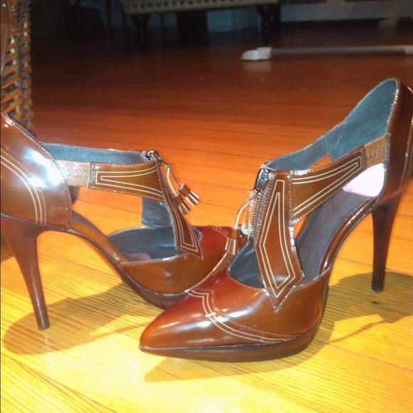 80% off Pelle Moda Shoes - Pelle Moda Polished Calf Pumps ...