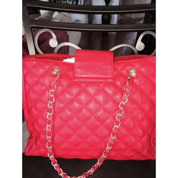 Kate Spade Quilted Handbag Chain Handles