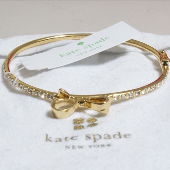 Kate Spade Pave Bow Earrings