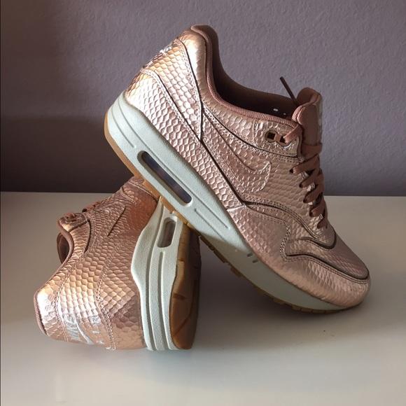 Kids Rose Gold Adidas Shoes