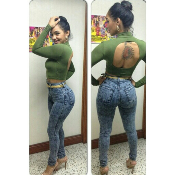 Colombian Lift Booty Jeans