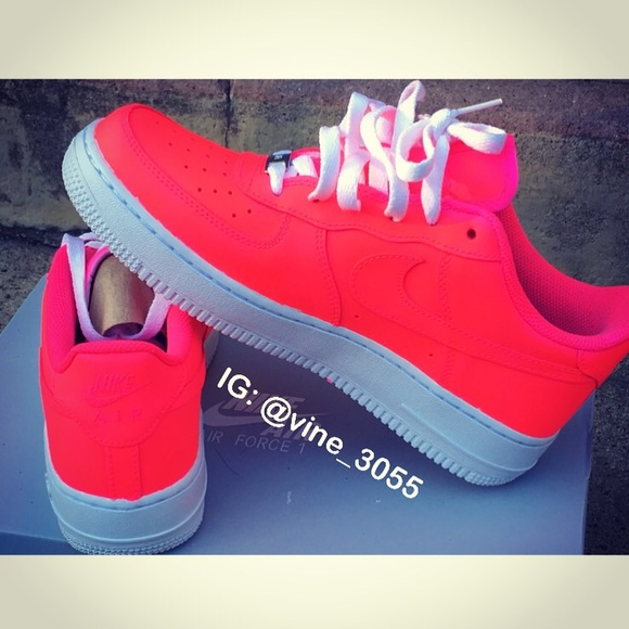 F Force Ones Custom Made Shoes