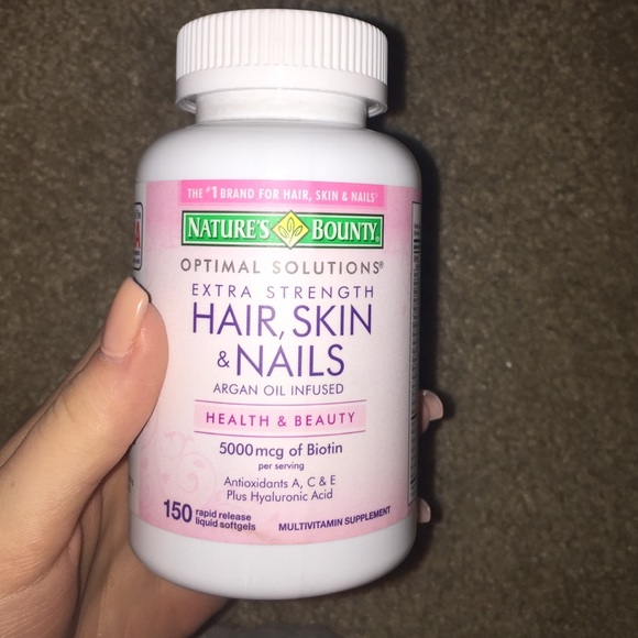 Hair Skin And Nails Vitamins Nature S Bounty - Best Skin In The Word ...