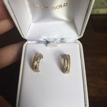 jcpenney Jewelry   Price Drop 14k Gold Hoop Earrings   Poshmark  Price drop  14k gold hoop earrings
