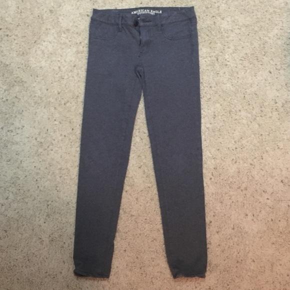American Eagle Grey Khakis