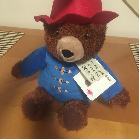paddington bear stuffed animal # 75