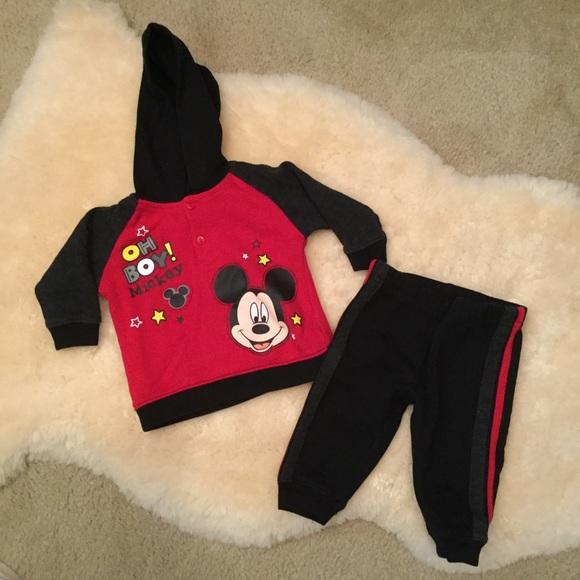 Disney - Disney Baby Hoodie and Pants Set from Kelly's ...